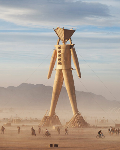 burning man 2018 i robot