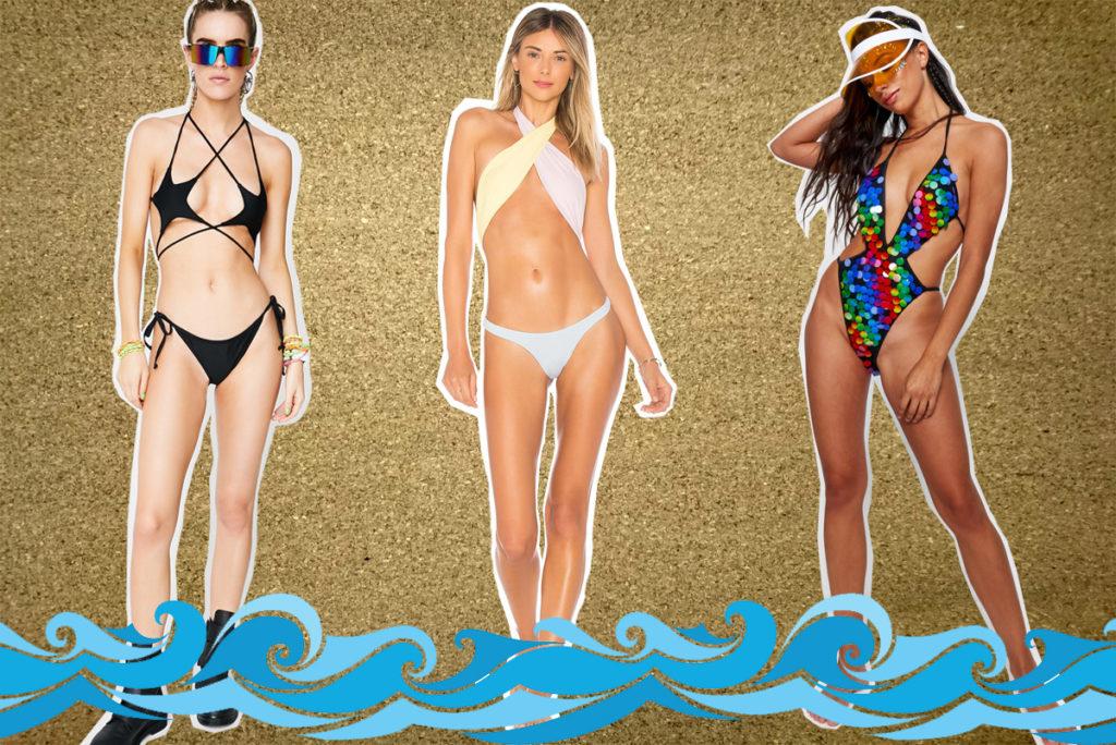 Slutty bikini