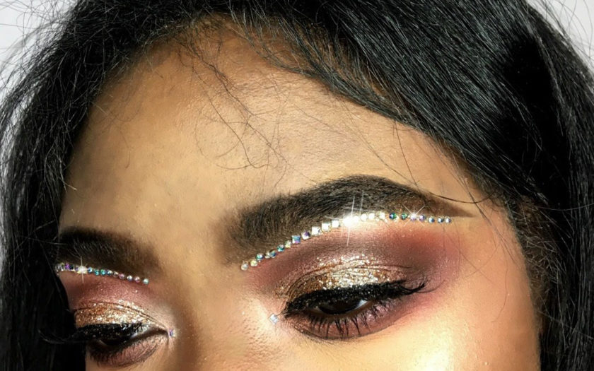 How To Do Your Makeup Like A Rhinestone Eyebrow Slutty Raver Costumes