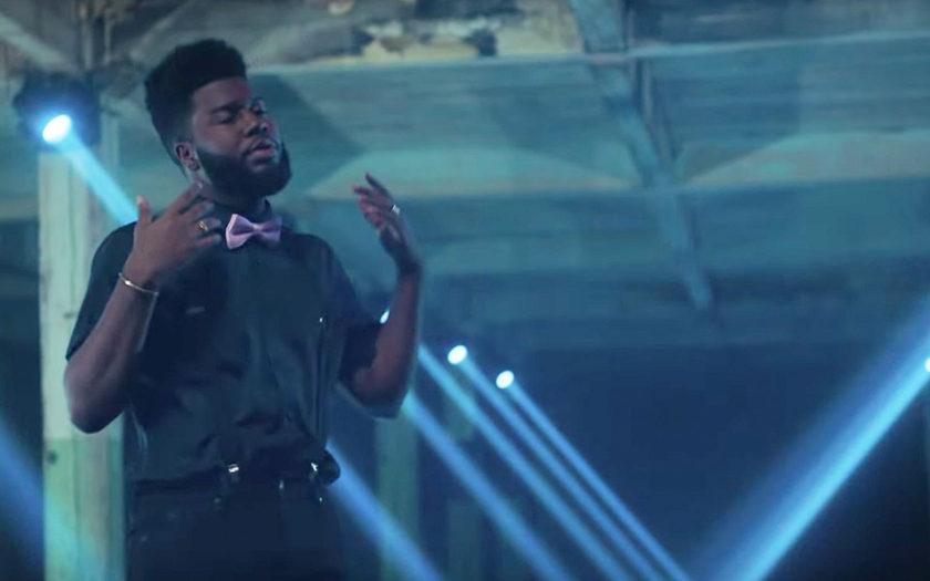 Khalid in screenshot from ocean music video