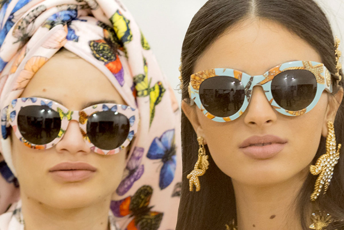 Versace Adds Tribute Eyewear To Summer Collection Slutty