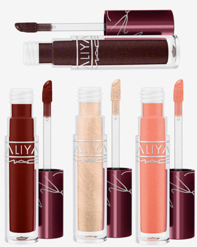 mac cosmetics x aaliyah lip glass