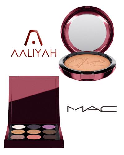 mac cosmetics x aaliyah