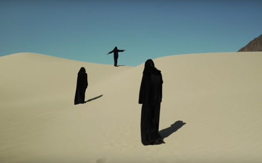 screenshot from no place music video