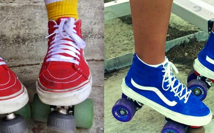 roller skate vans