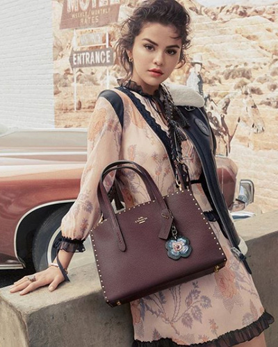Selena Gomez Coach Fall 2018 B
