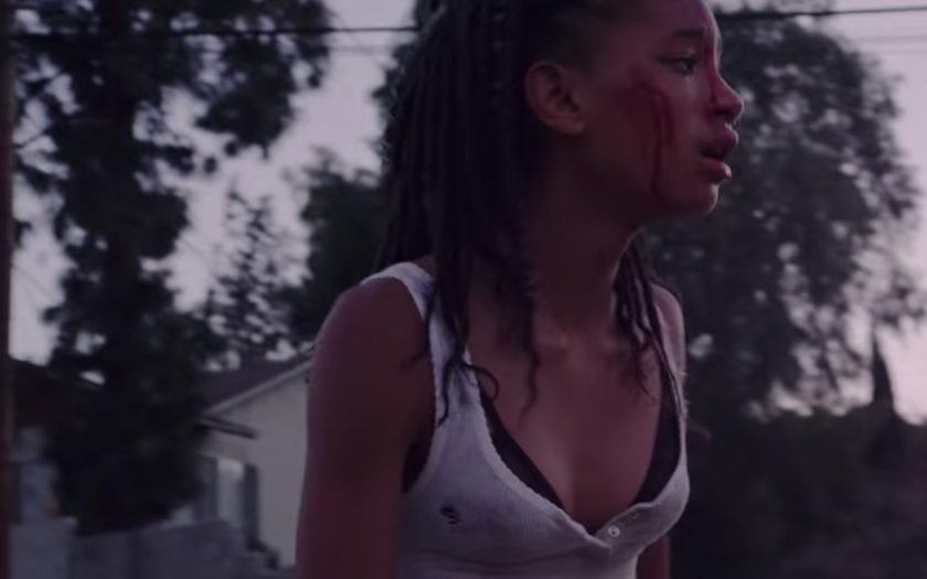 """screenshot of willow smith in music video for """"my life"""" by Zhu & Tame Impala"""