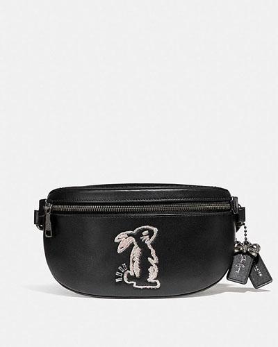 Coach x Selena Gomez Belt Bag With Bunny