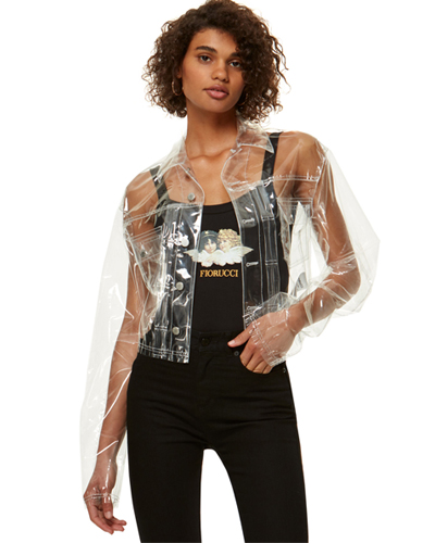 FIORUCCI BERTY TRANSPARENT JACKET
