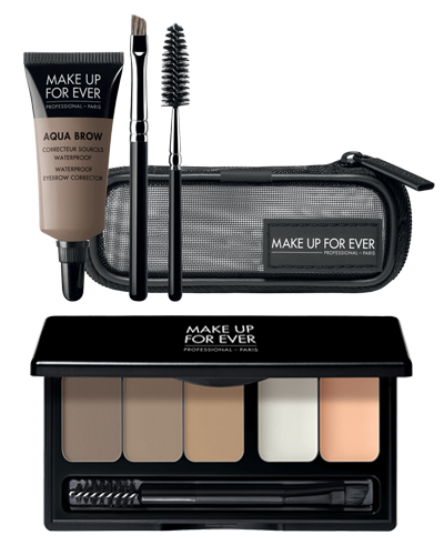 MAKEUP FOREVER EYEBROW PALETTE AND GEL KIT