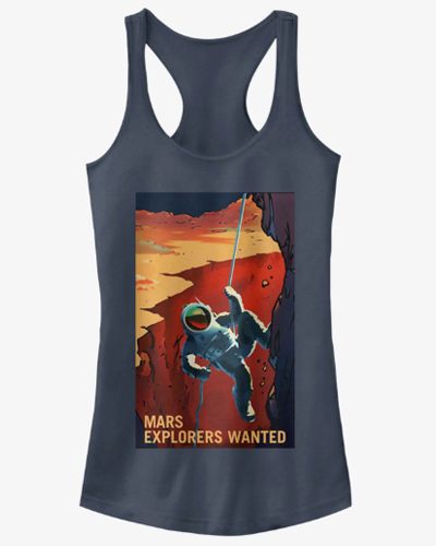 NASA MARS EXPLORERS WANTED WOMANS TANK