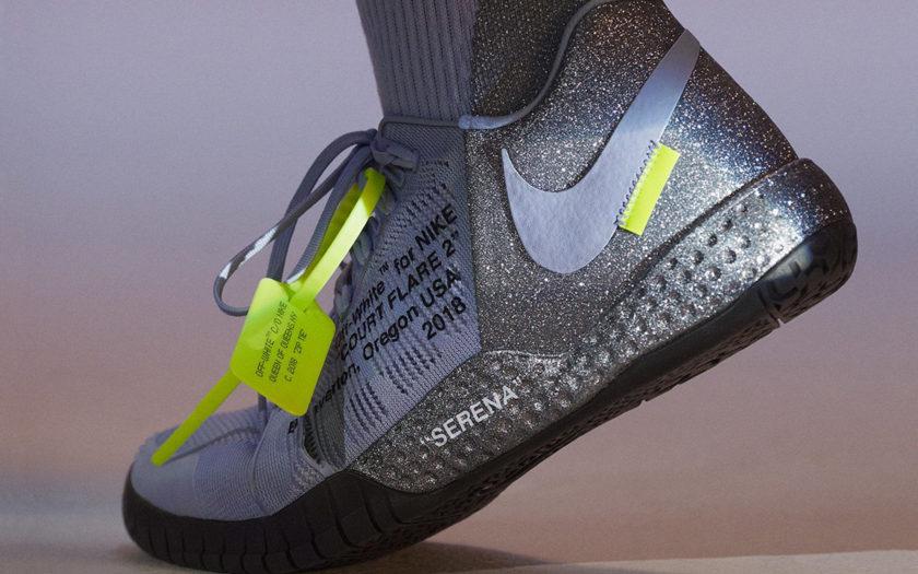 Off White, Nike & Serena Williams Design Glittery Sneakers