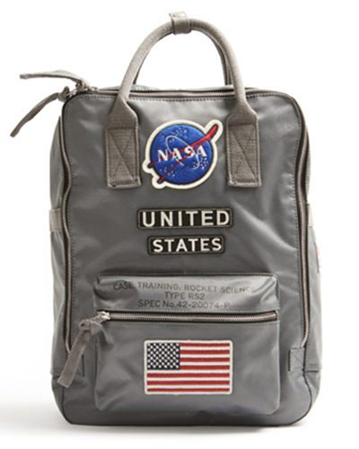 Red Canoe - NASA Backpack | U-BAG-NASABP-GY