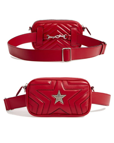 Star Alter Faux Leather Fanny Pack STELLA MCCARTNEY