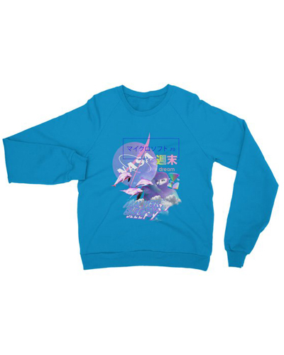 Vaporwave Aesthetic NASA Dream Unisex Sweatshirt