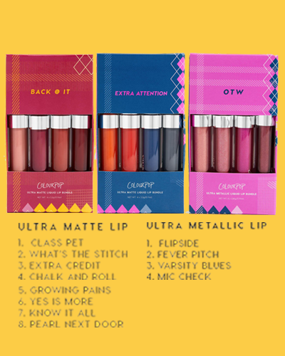 Colourpop Lip Bundles