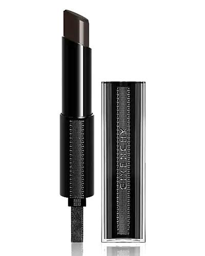 GIVENCHY Rouge Interdit Vinyl Color Enhancing Lipstick - 16 Noir Revelateur