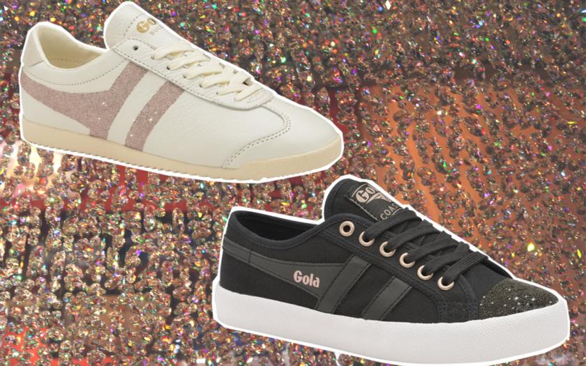 Gola x Swarovski women's trainers sneakers
