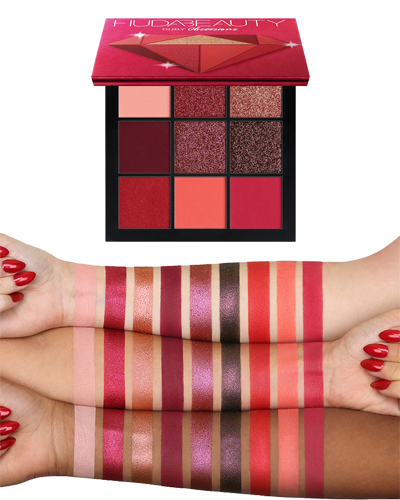 Huda Beauty Precious Stones Obsessions Palettes Ruby