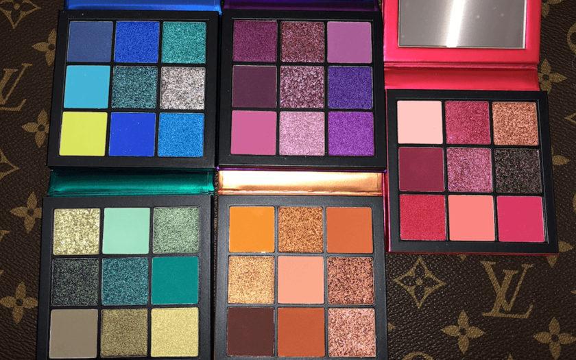 Huda Beauty Precious Gems Obsessions Eyeshadow palettes