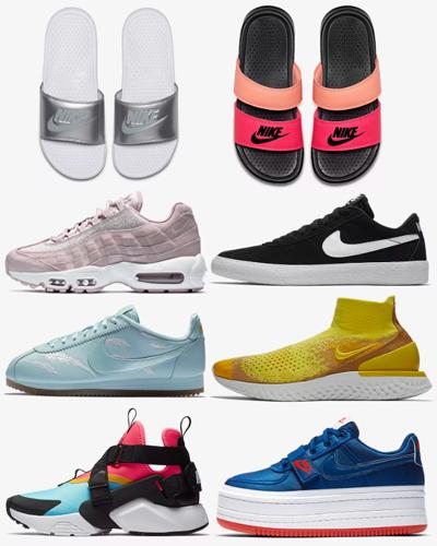 8 pairs of nikes 2018