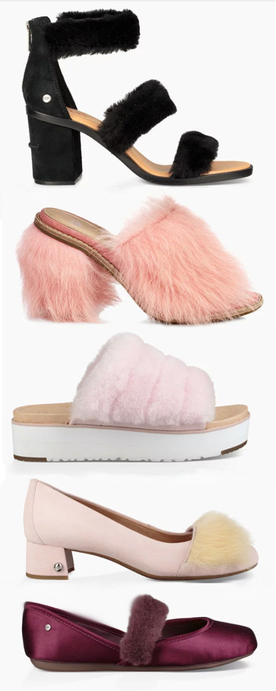 UGG FLUFF COLLECTION 2018