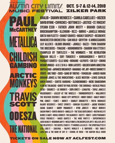 austin city limits music festival 2018 lineup