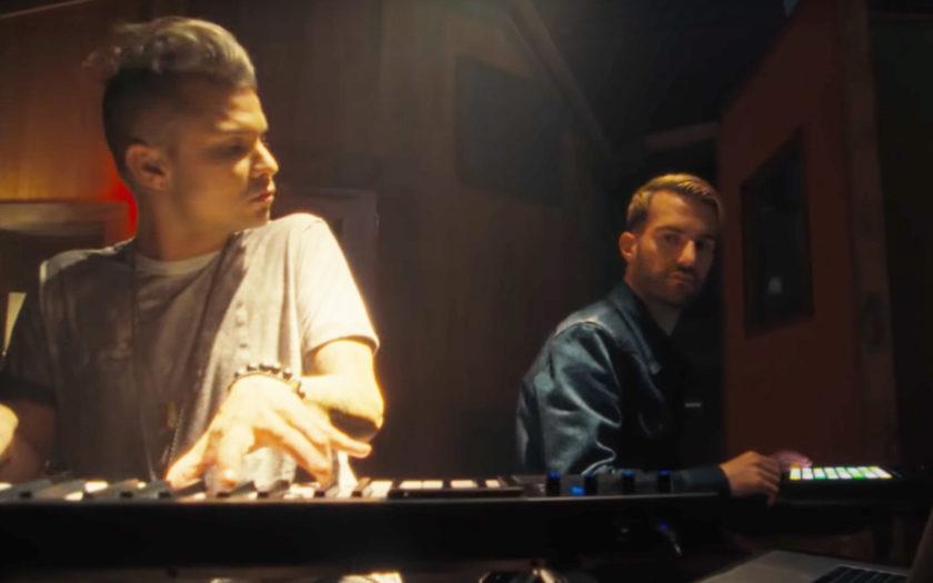 screenshot from dj's gotta dance more music video