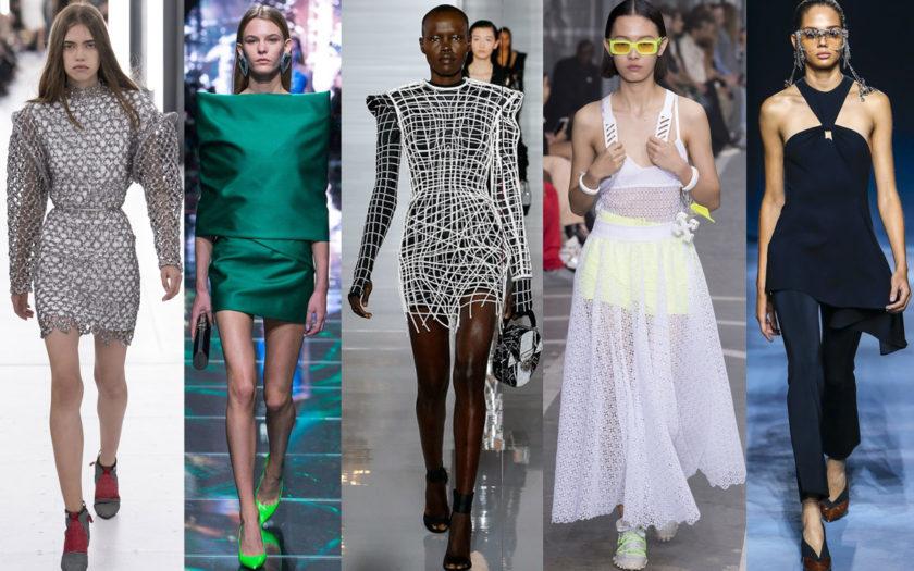 Spring 2019 runway looks from Louis Vuitton, Balenciaga, Balmain, Off-White and Givenchy