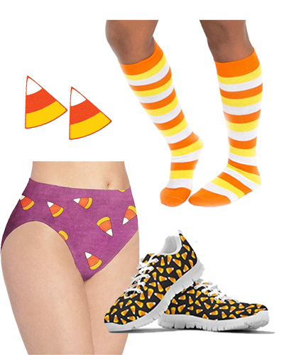 candy corn fall thanksgiving rave outfit