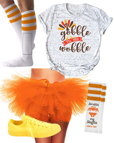 turkey trot fall thanksgiving rave outfit