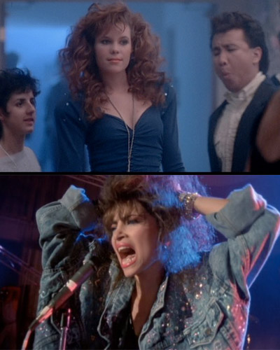 teen witch prom and concert scenes