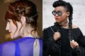 Florence welch and janelle monae with cute braids