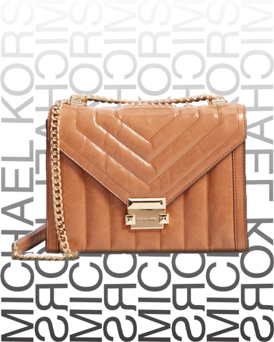 Large Quilted Leather Shoulder Bag MICHAEL MICHAEL KORS 328