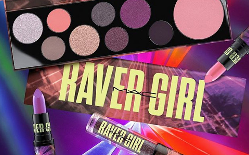 mac cosmetics raver girl line