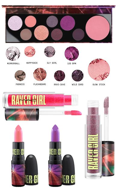 MAC Cosmetics Raver Girl beauty products