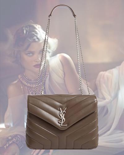 Small Loulou Matelassé Leather Shoulder Bag SAINT LAURENT 1950