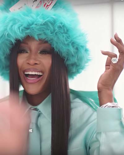 naomi campbell for tiffany & co believe in dreams holidays 2018