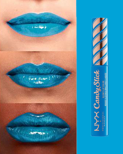 nyx professional makeup CANDY SLICK GLOWY LIP COLOR EXTRA MINTS