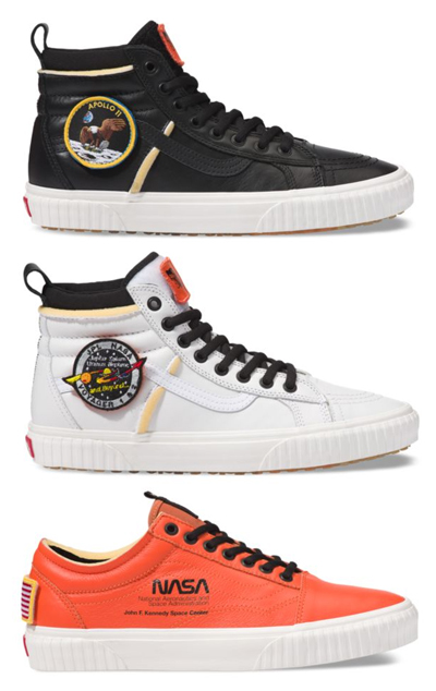 vans x space voyager sneakers