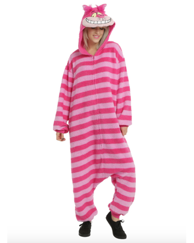 Disney x Hot Topic Alice in Wonderland Cheshire Cat Union Suit