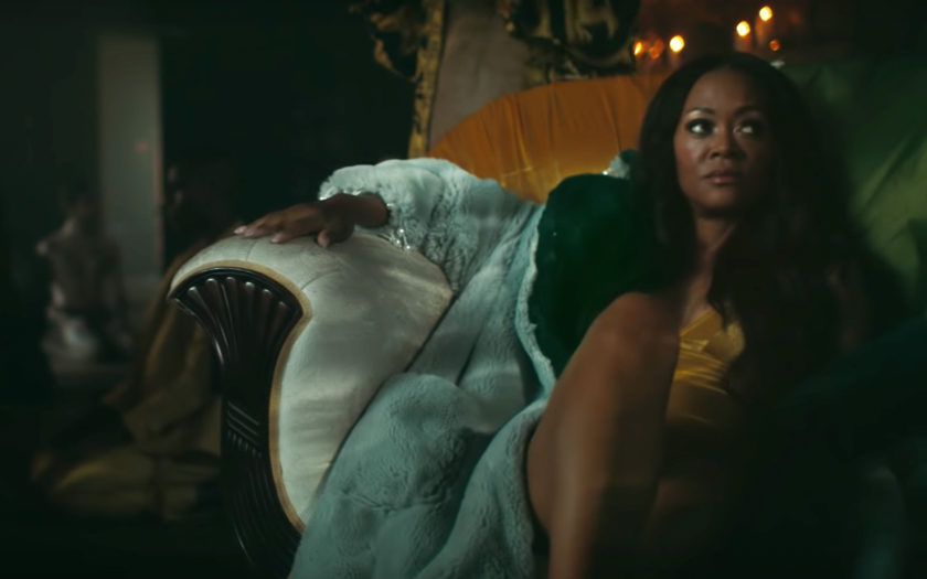 screen shot from don't sleep music video