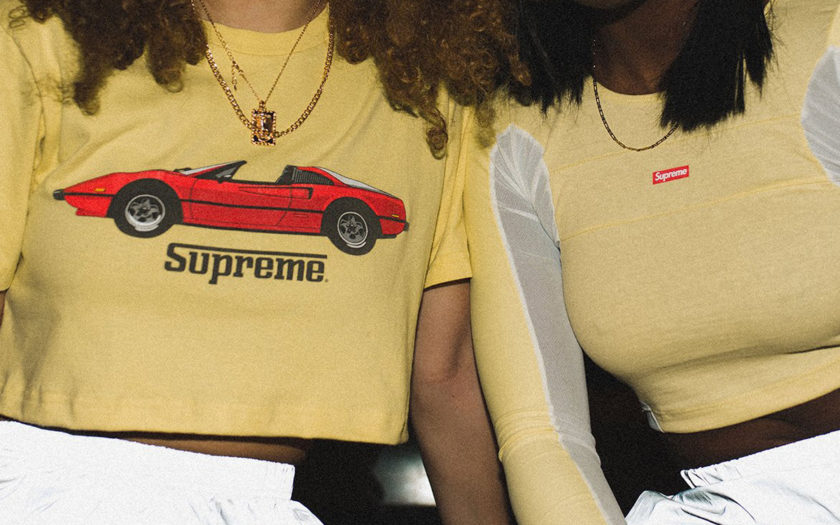 Frankie Collective reworked supreme crop tops