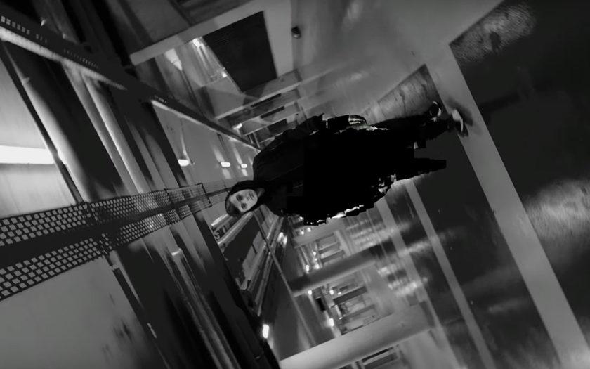 screenshot of martin garrix in glitch music video
