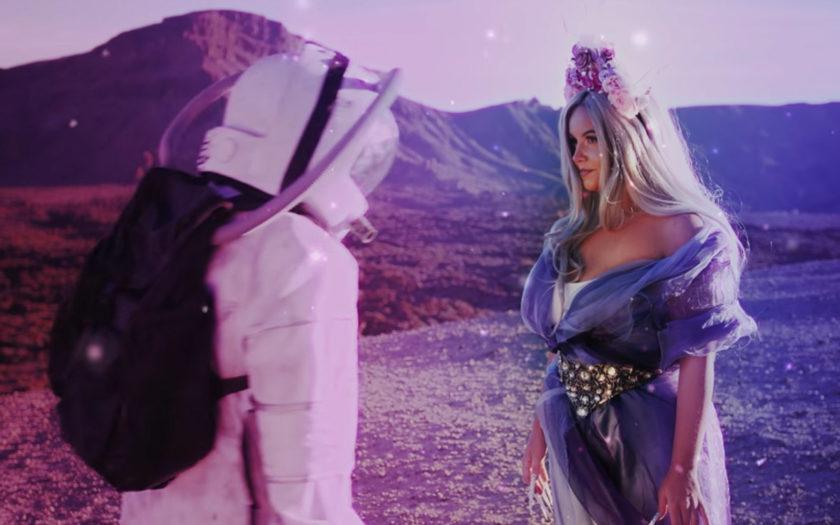 screenshot from starchild music video