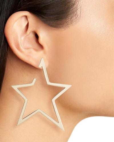 Sade X-Large xStar Hoop Earrings JENNIFER ZEUNER