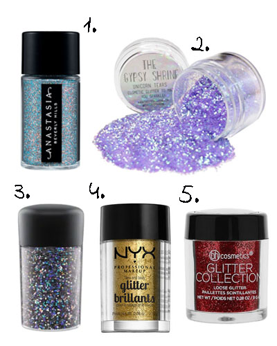 top glitter loose pigments