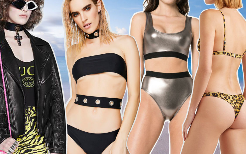 four kinds of swimsuits