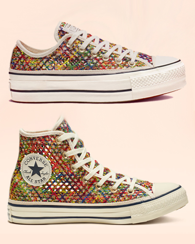 560d0113d35 Converse Crochet Will Aggravate Your Trypophobia - Slutty Raver Costumes