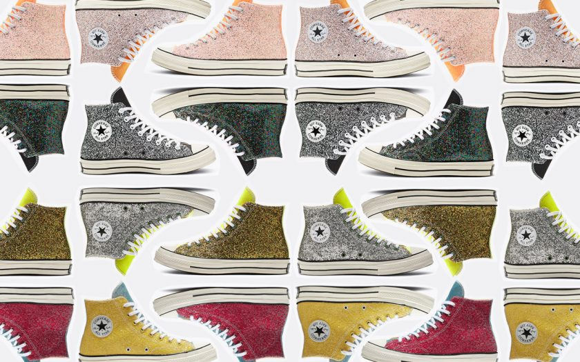 b18806a5c5ff Get Your Glitter Fix in Converse x JW Andersons - Slutty Raver Costumes